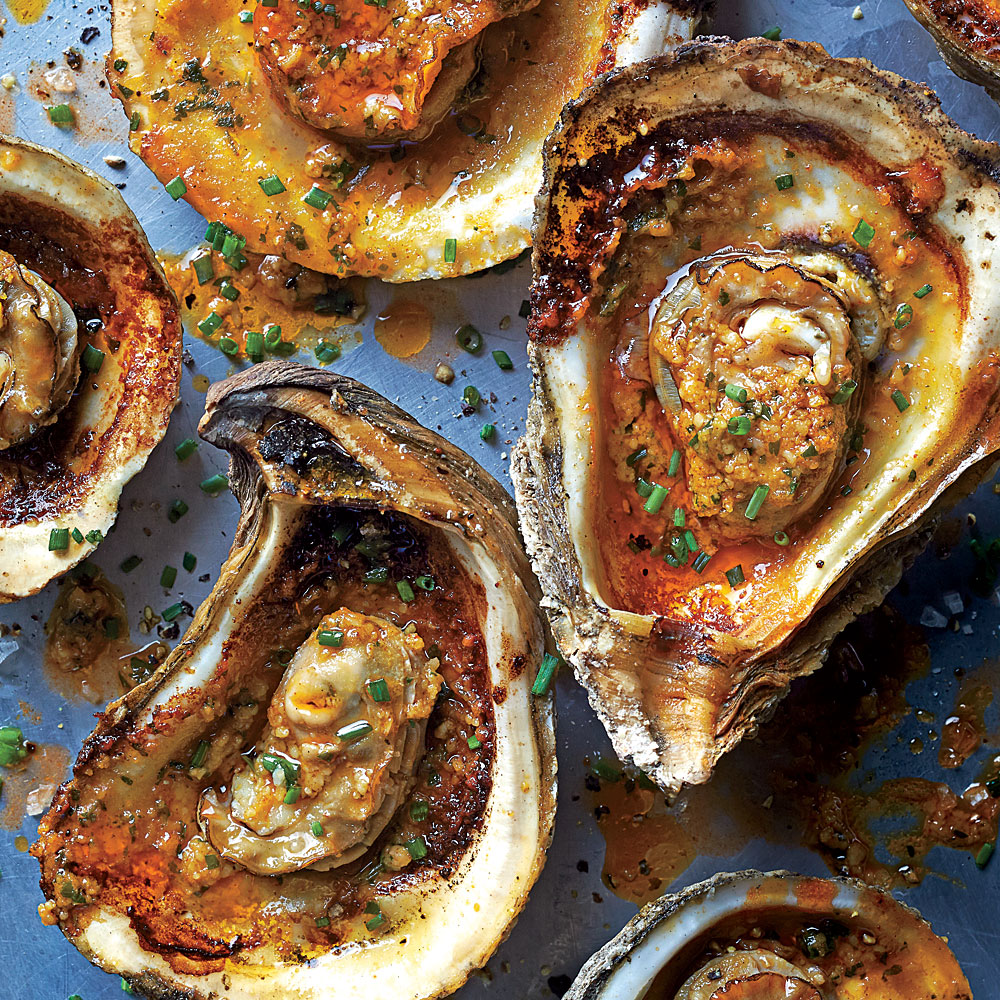 Grilled Oysters Recipe - 0 | MyRecipes