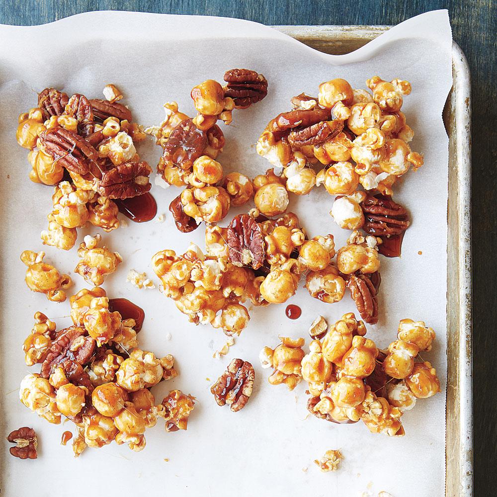 Maple-Pecan Popcorn
