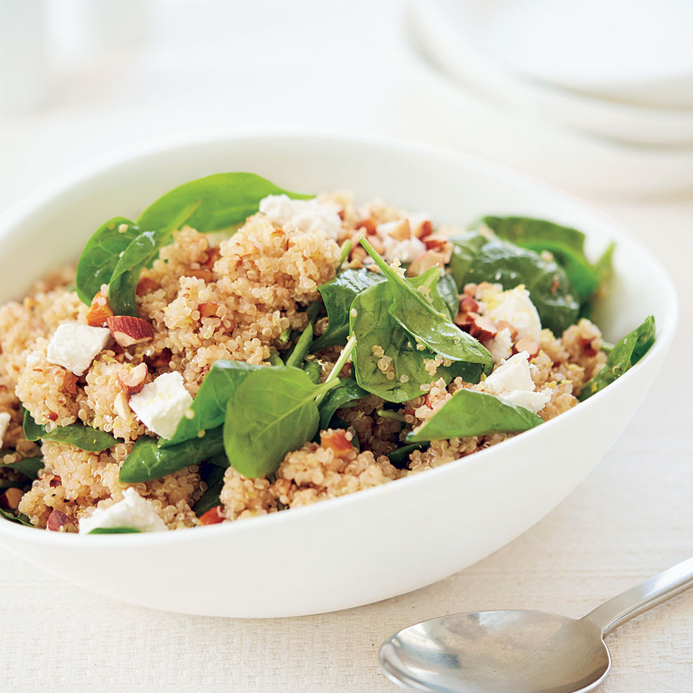 Toasted Quinoa Salad