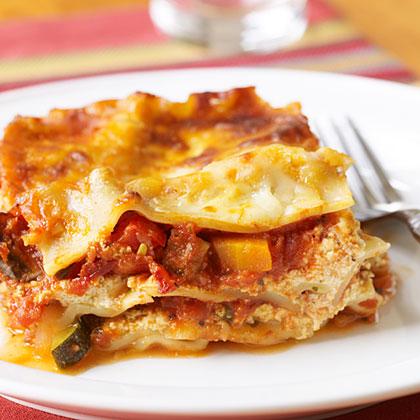 Simple Veggie Lasagna
