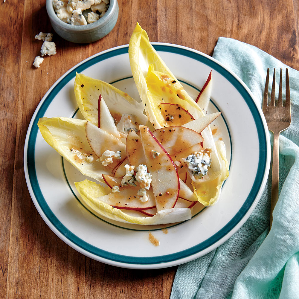 Endive Salad with Pear and Gorgonzola
