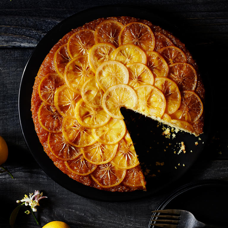 Meyer Lemon Upside Down Cake