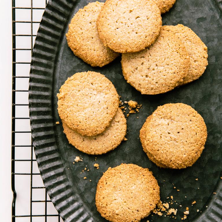 Oat Flour and Almond Sablés
