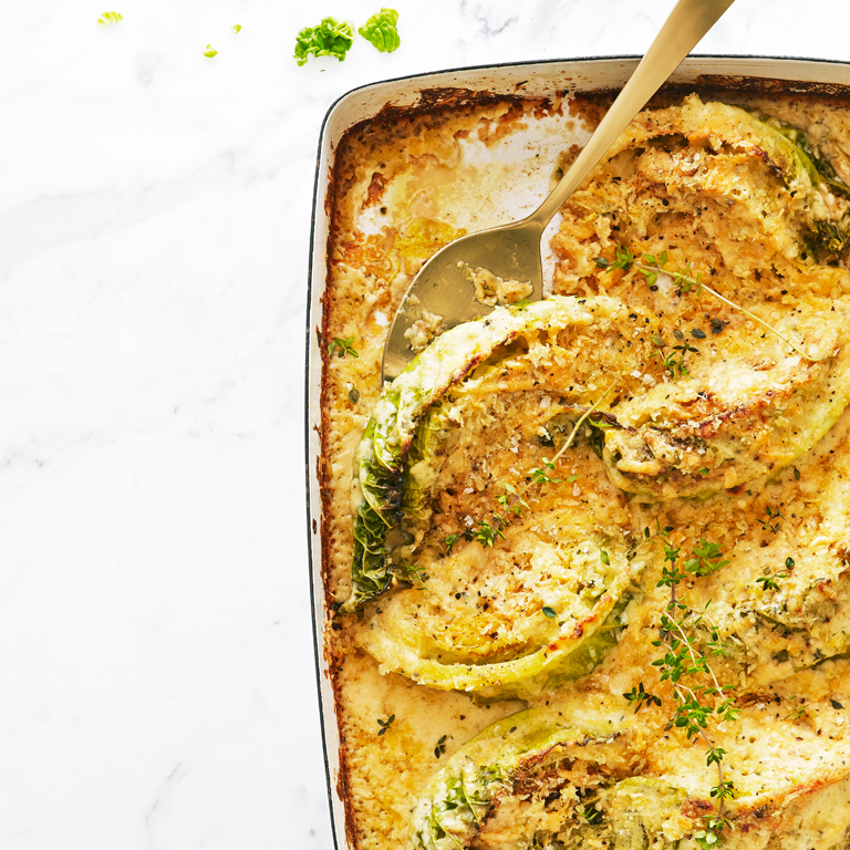 Savoy Cabbage Gratin Recipe