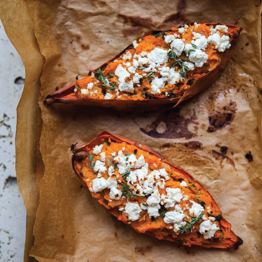 Sweet potato recipes baked twice