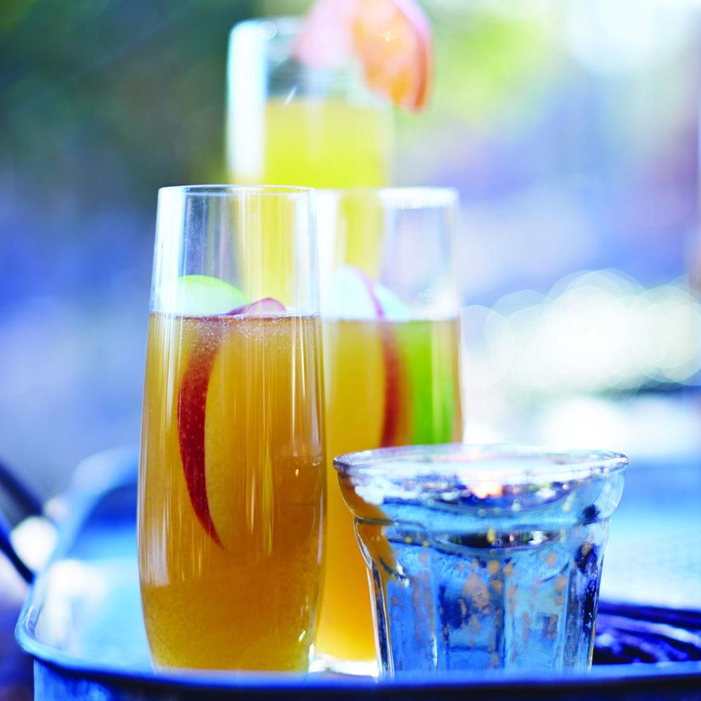 Spiked Satsuma Champagne - image