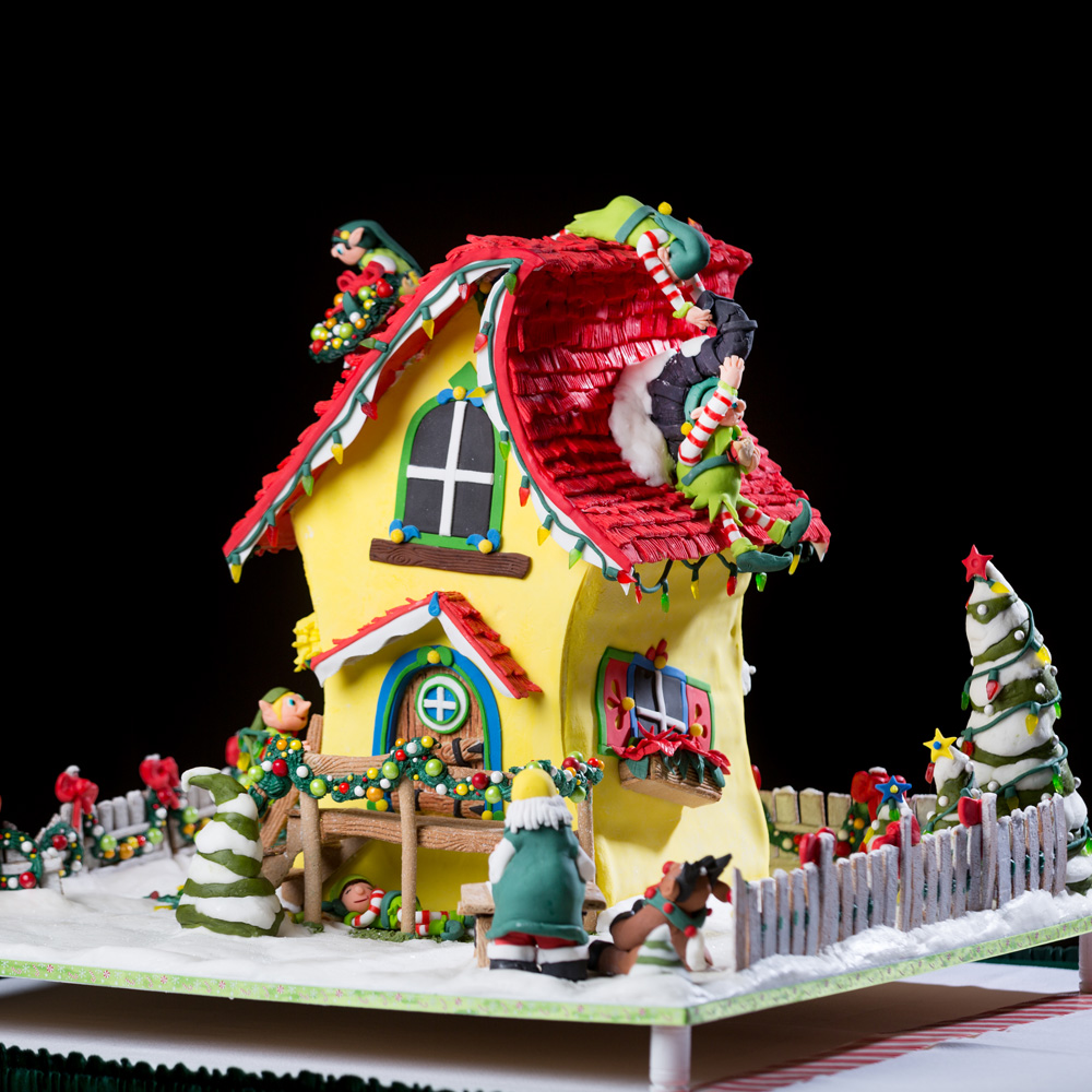 Houses Decorated Like Gingerbread Houses House And Home