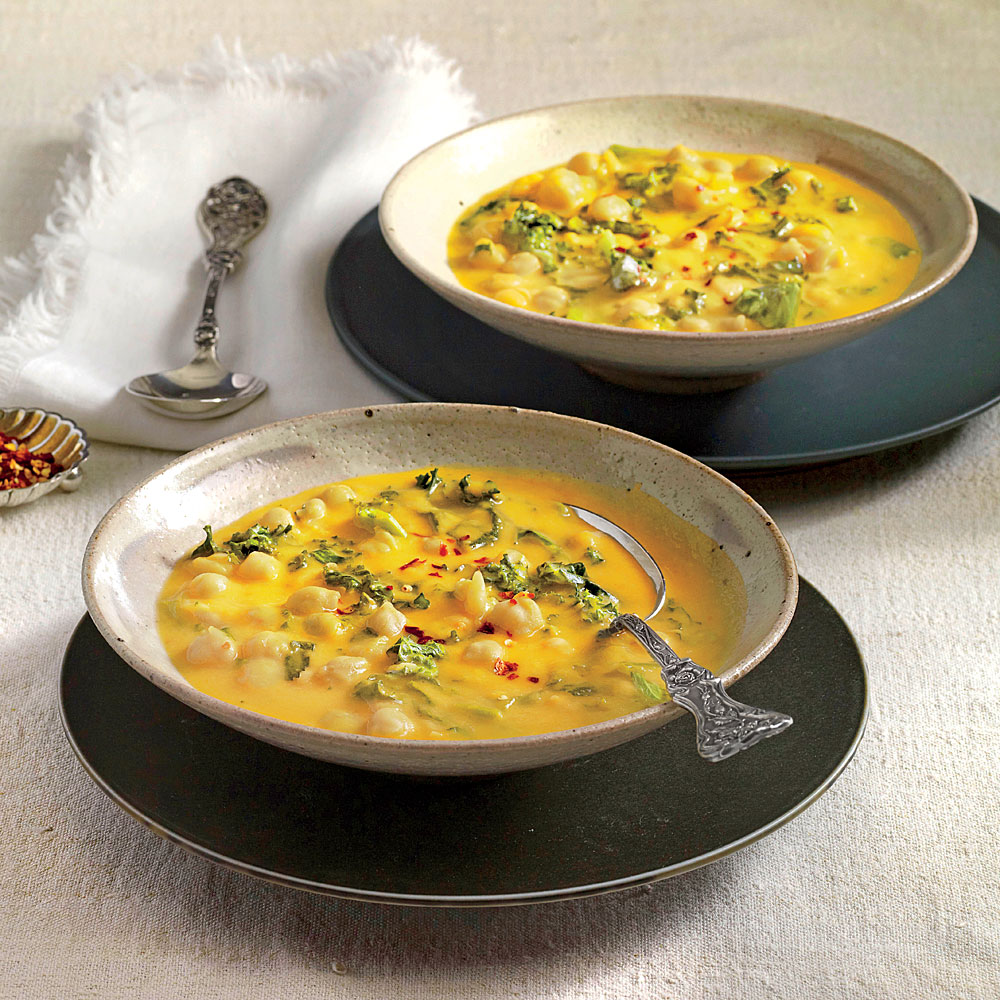 African Chickpea Soup