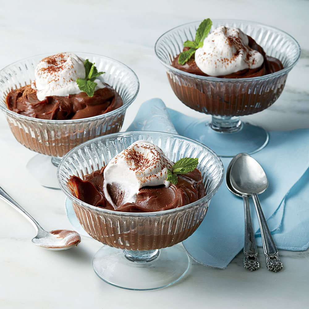 Chocolate-Buttermilk Pudding Recipe | MyRecipes