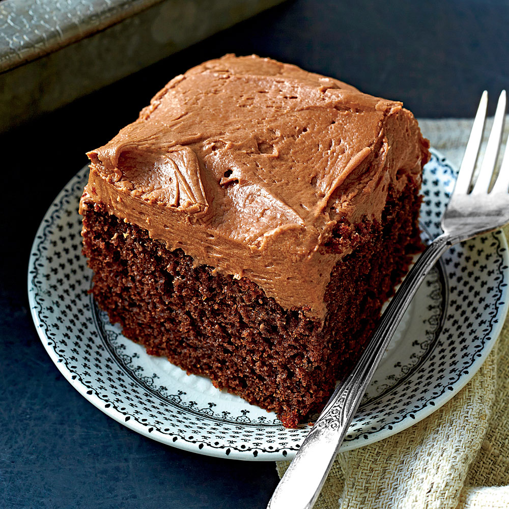 Chocolate-Mayonnaise Cake Recipe | MyRecipes