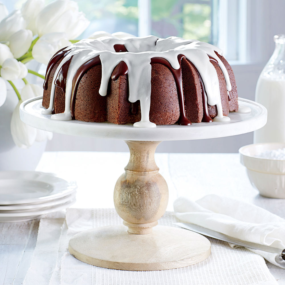 Triple Chocolate Buttermilk Pound Cake Southern Living