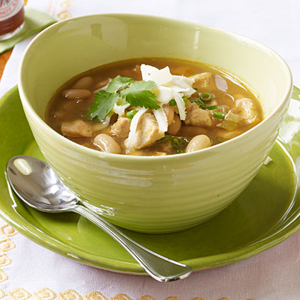Speedy White Chicken Chili