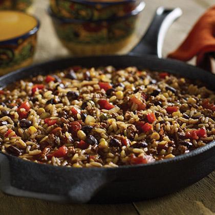 Black Beans and Rice Chili
