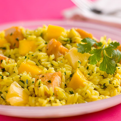 Gluten-Free Tropical Chicken and Rice