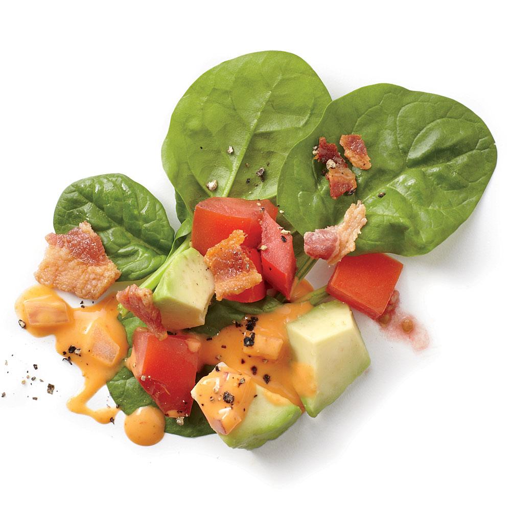 Sriracha BLT Avocado Salad