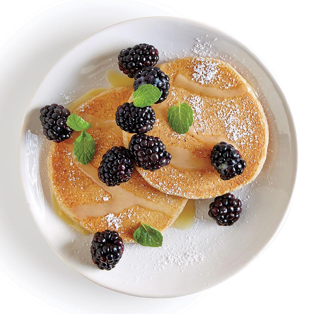 Tart-Sweet Lemon Blackberry Pancake Topping