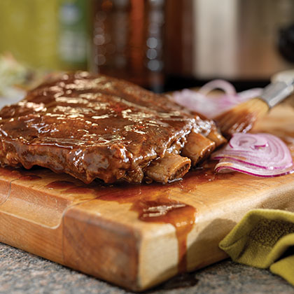 Slow Cooker Root Beer Ribs