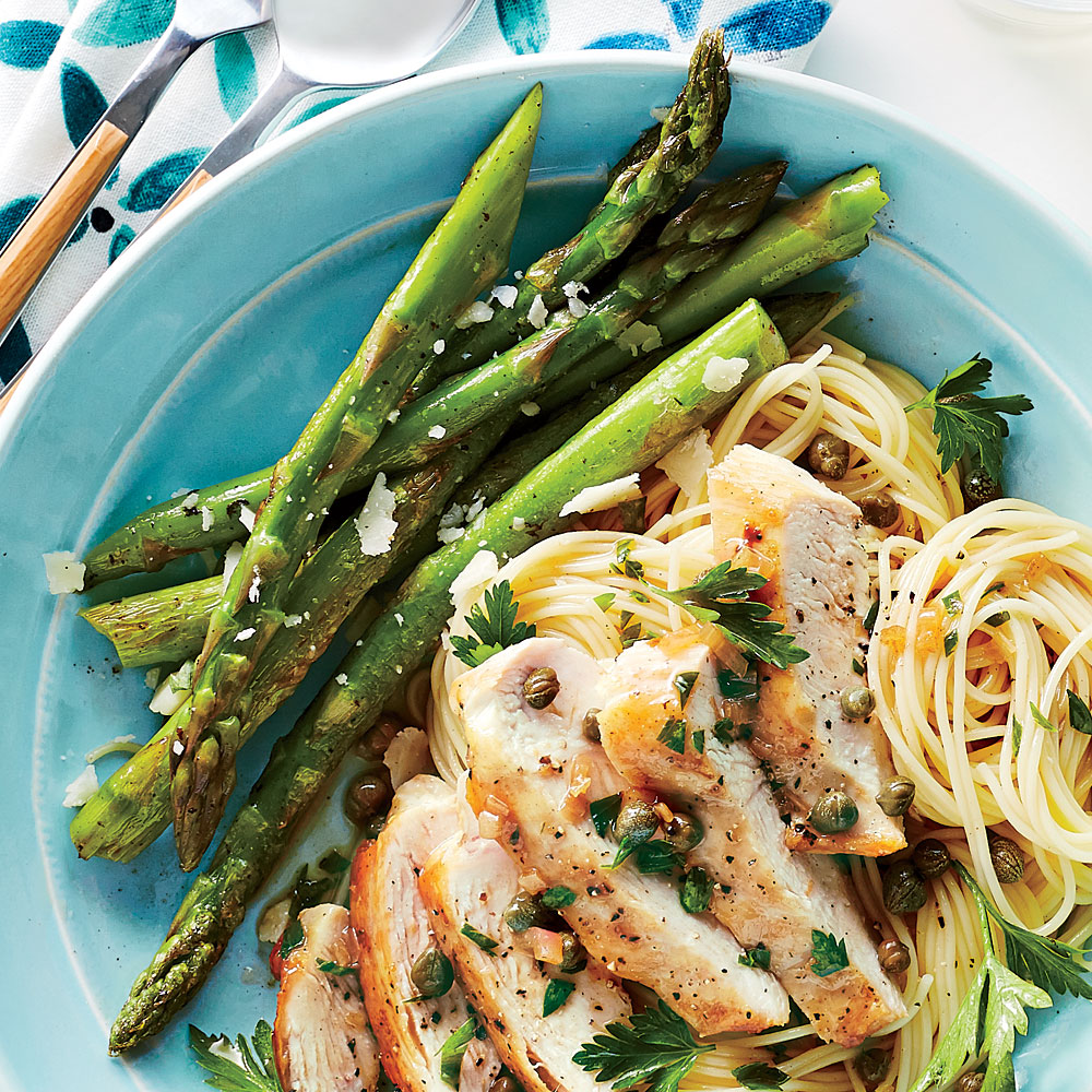 Skillet Asparagus with Pecorino