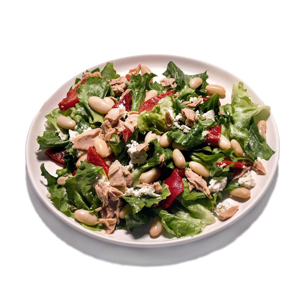Tuna, Bean and Escarole Salad