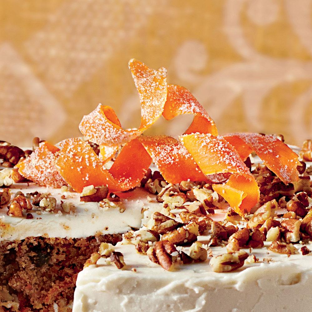 Butter Less Carrot Cake