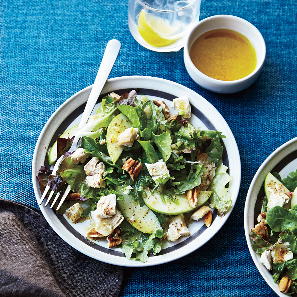 Chicken Apple Salad Orange Mustard Vinaigrette Recipe Myrecipes