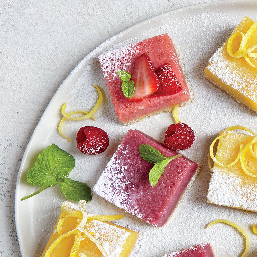 Berry Lemonade Bars