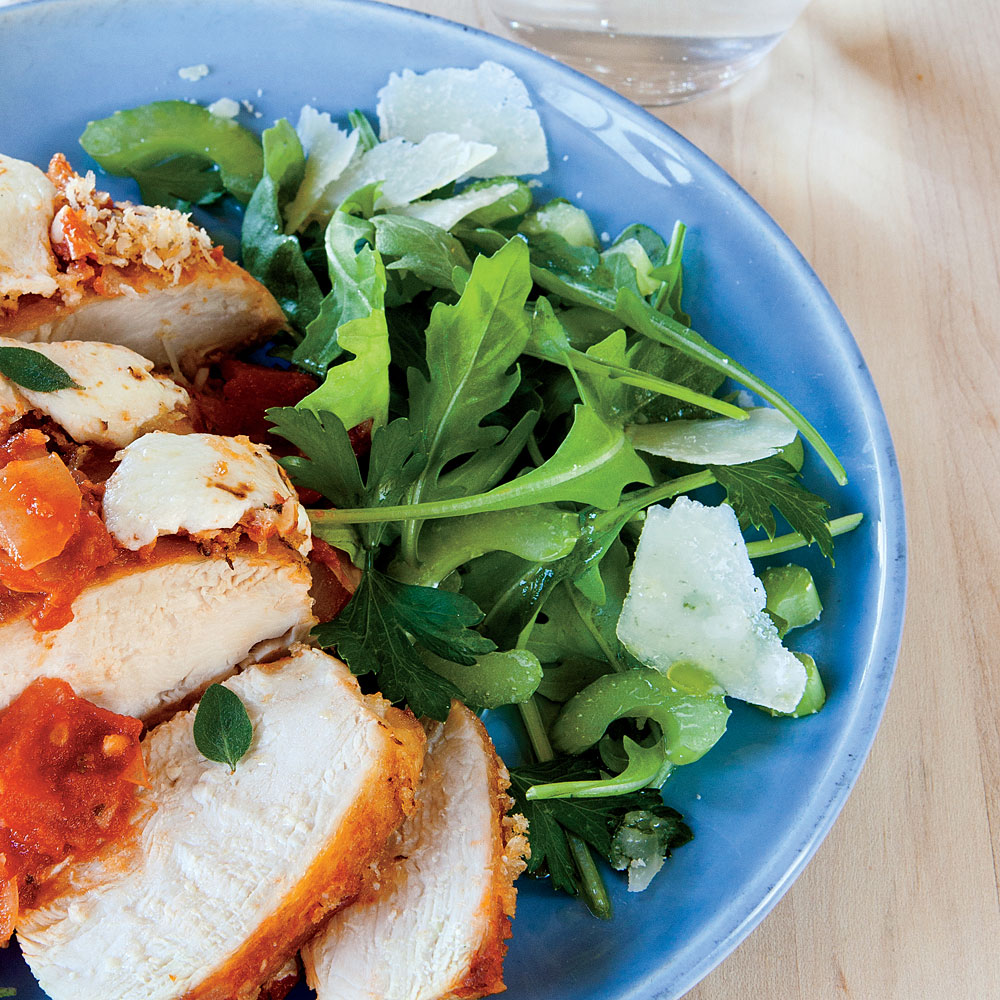 Celery and Arugula Salad