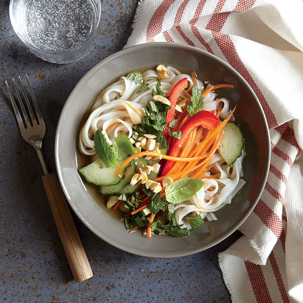 Fresh Thai Noodle Bowl Recipe Myrecipes