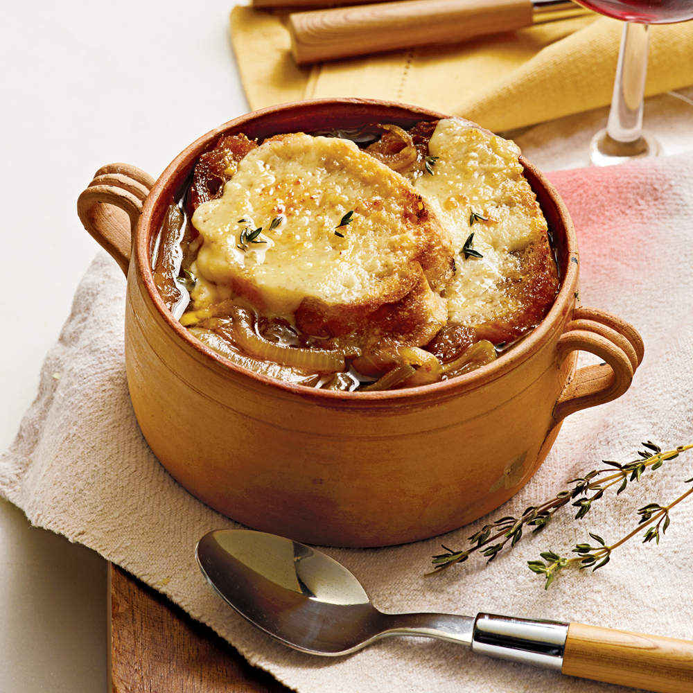 Slow Cooker French Onion Soup Recipe | MyRecipes
