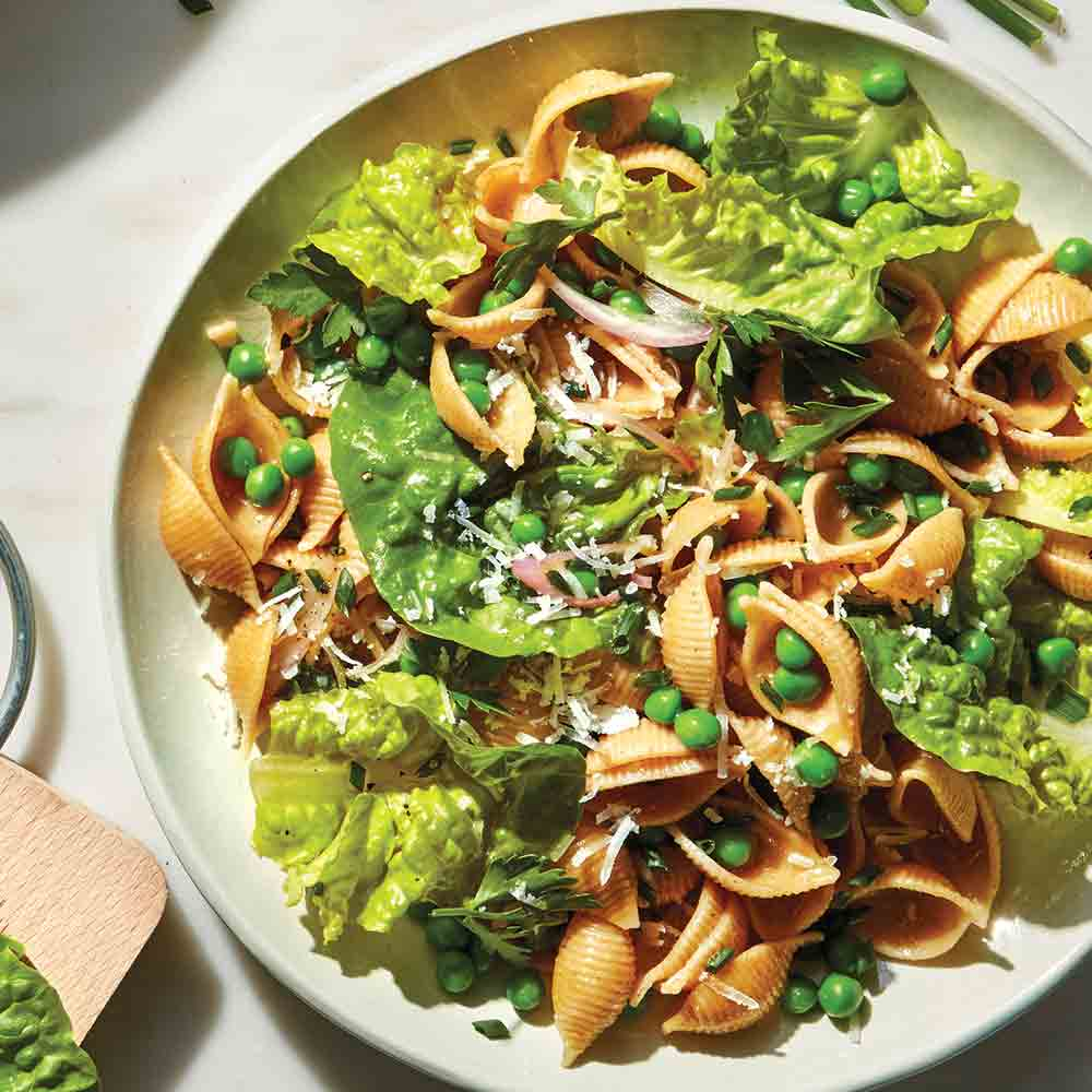 Spring Pea Pasta Salad