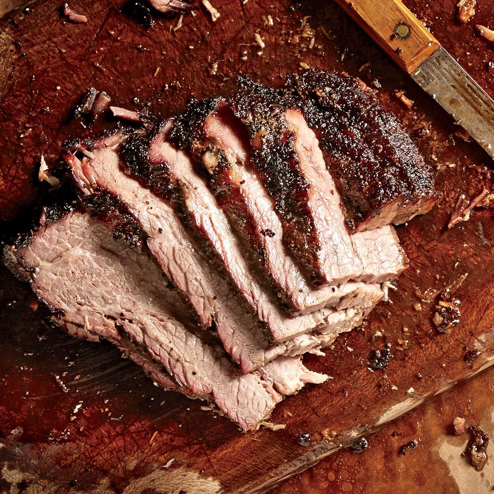 True Smoked Beef Brisket Recipe Myrecipes