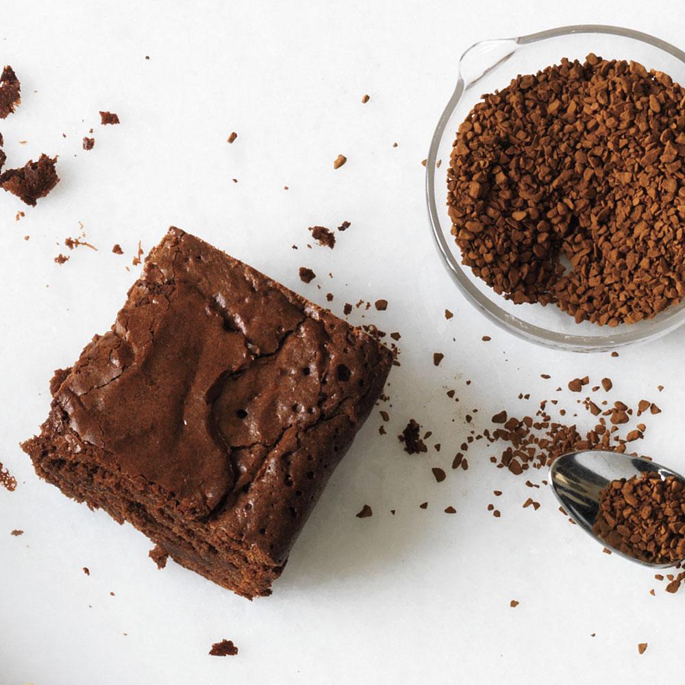 Coffee Bean Brownies Recipe