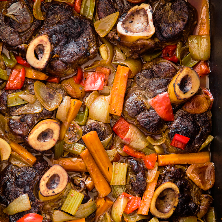 North African Veal Shanks