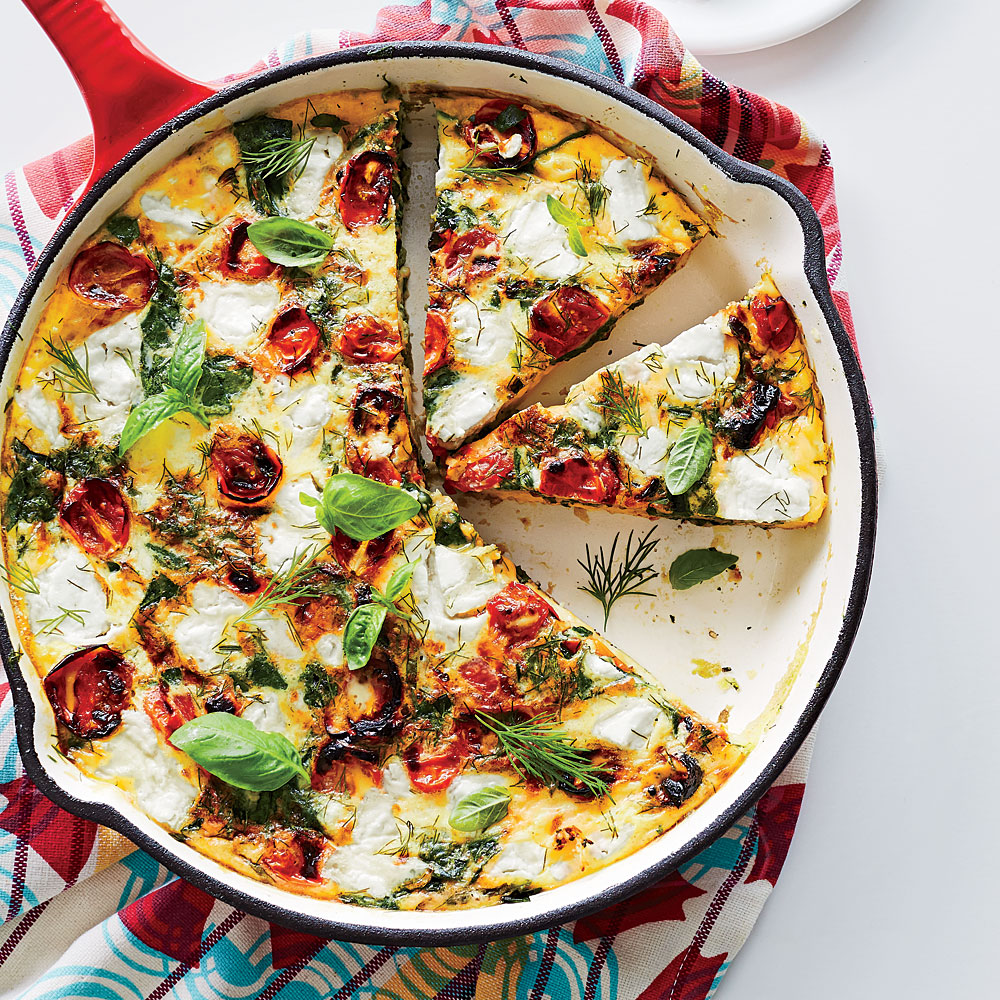 Veggie-and-Herb Frittata