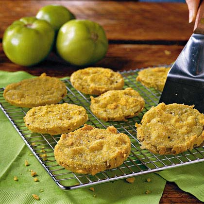 Celebrate St. Patrick's Day with Fried Green Tomatoes