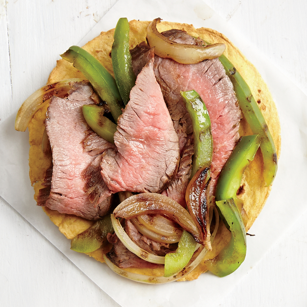 All-American Steak Tostada