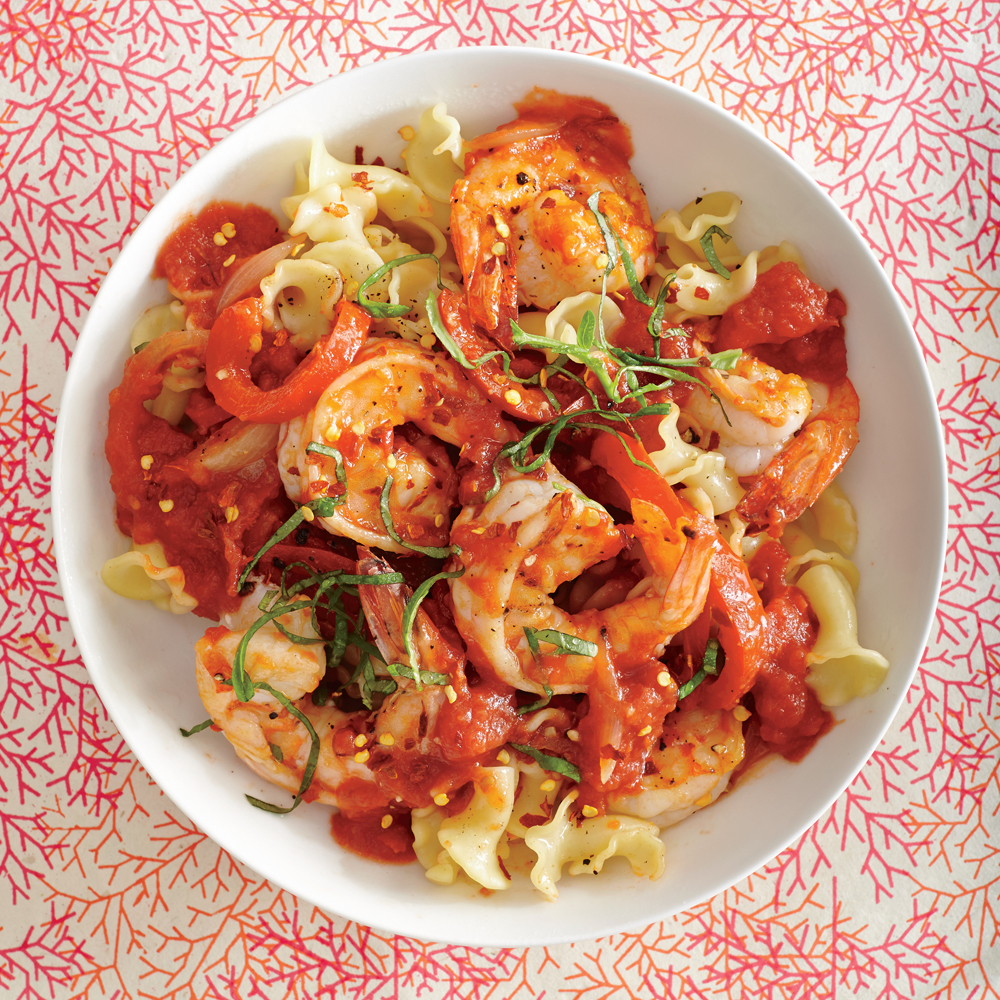 Shrimp Arrabbiata