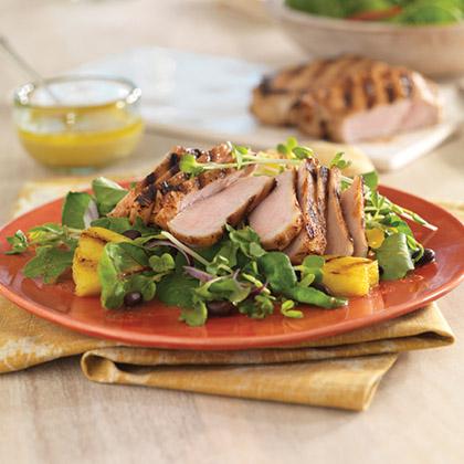 Cuban Pork Adobo Salad