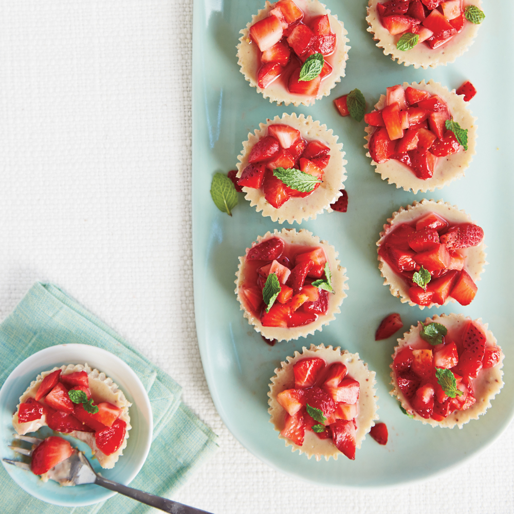 Bright and Fresh Strawberry Desserts