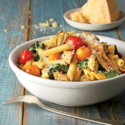 Chicken and Artichoke Penne - Southern Living