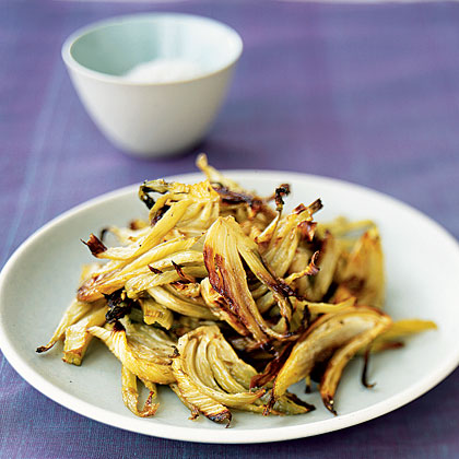 Carmelized Roasted Fennel with Fennel Seeds