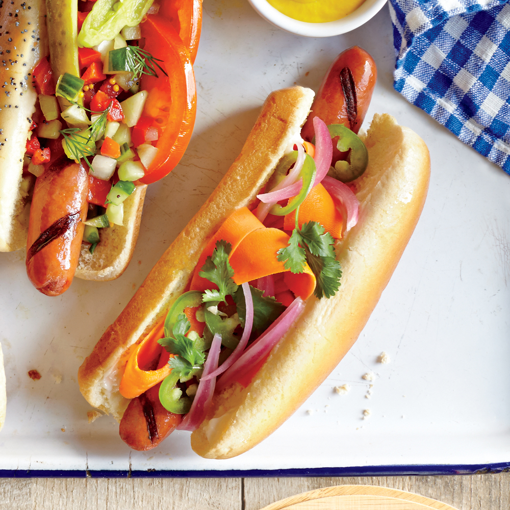Banh Mi Hot Dog Recipe - 0 | MyRecipes