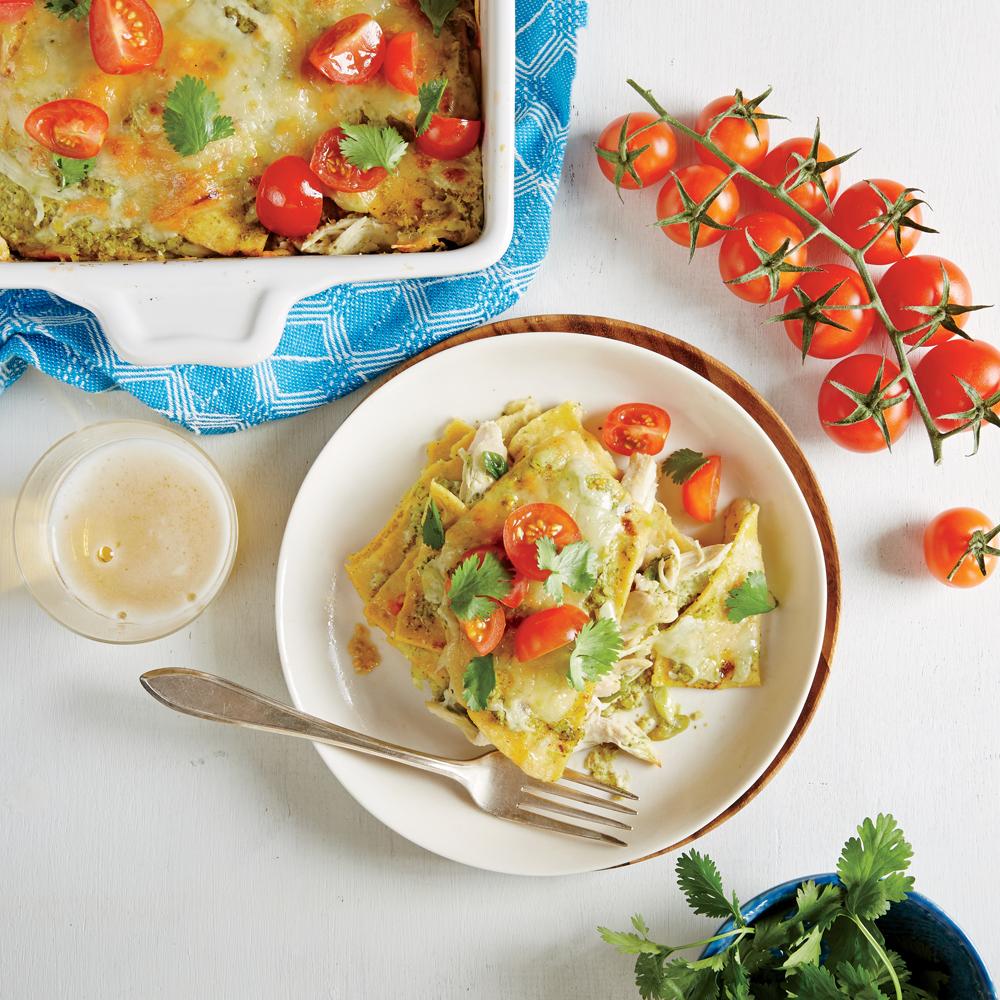 Chicken Enchilada Casserole Recipe Myrecipes