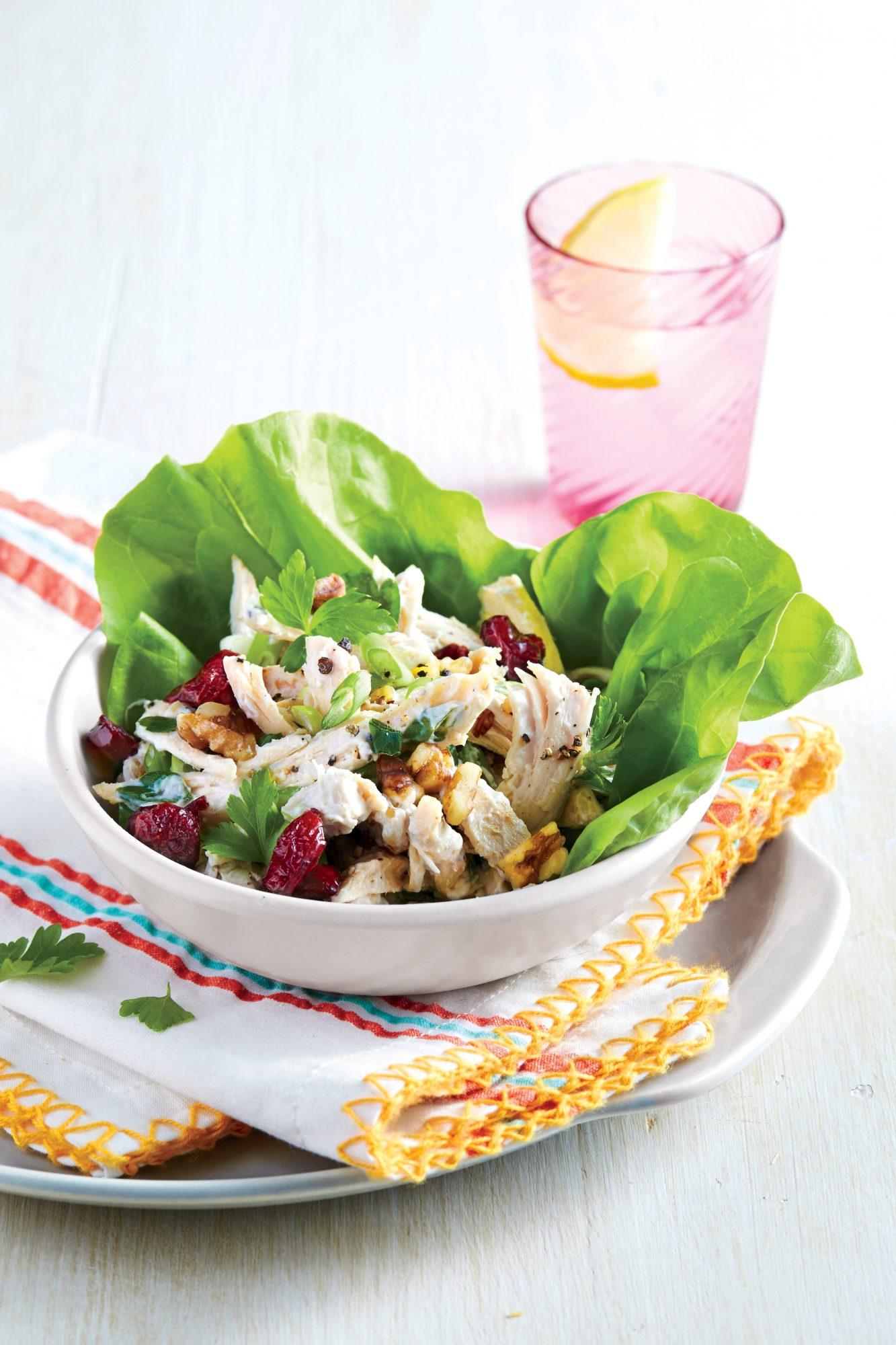 Chicken Salad in Lettuce Cups