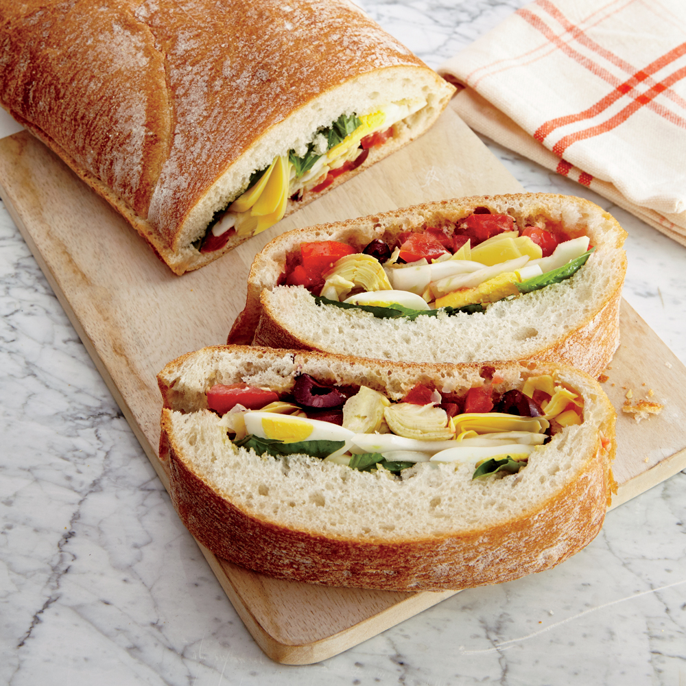 Summer Veggie Sandwich Recipe | MyRecipes