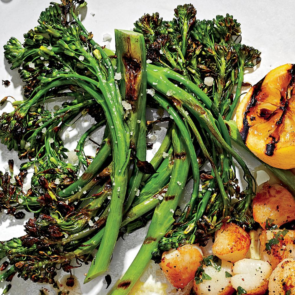Charred Broccolini with Lemon