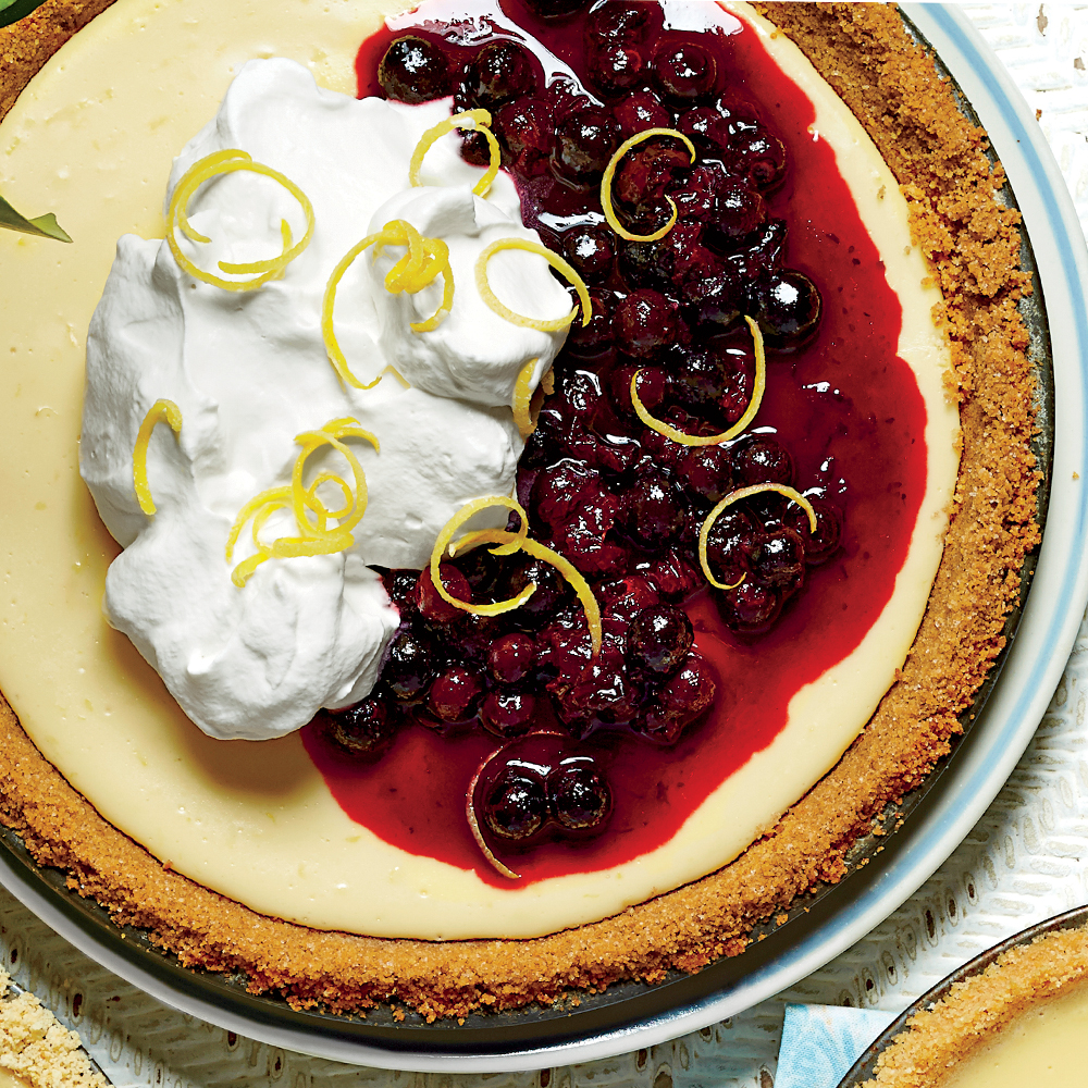 <p>Lemon-Buttermilk Icebox Pie</p>