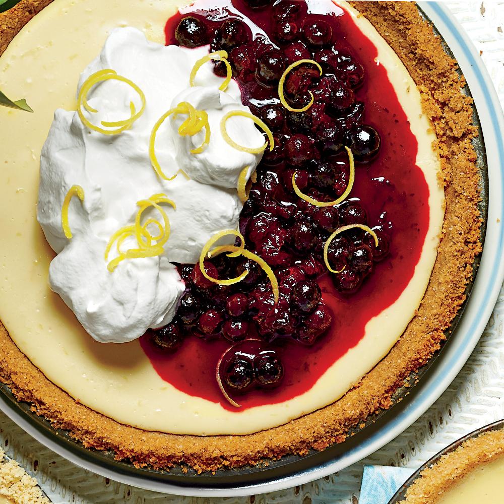 Lemon-Buttermilk Icebox Pie Recipe