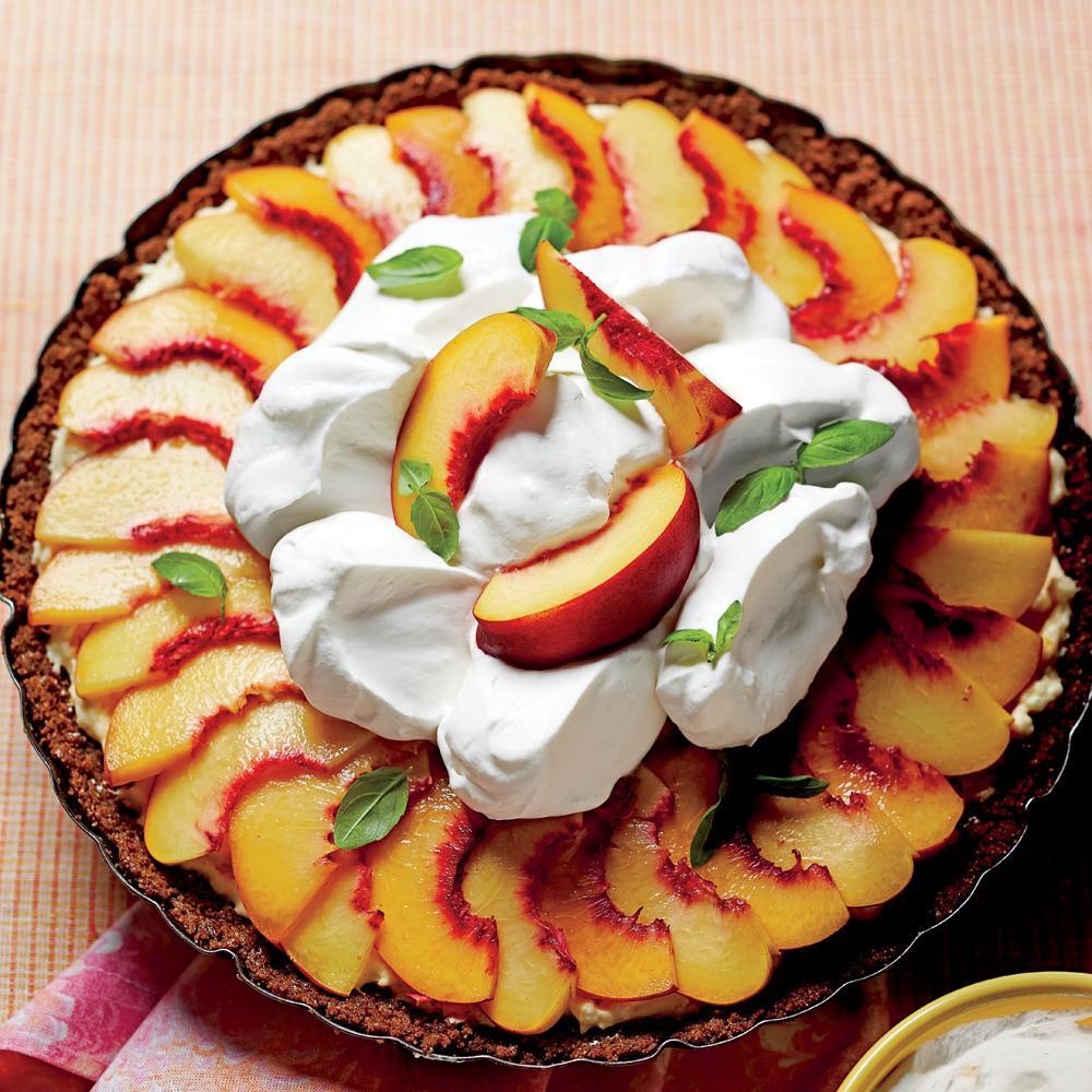 Peach Divinity Icebox Pie Recipe