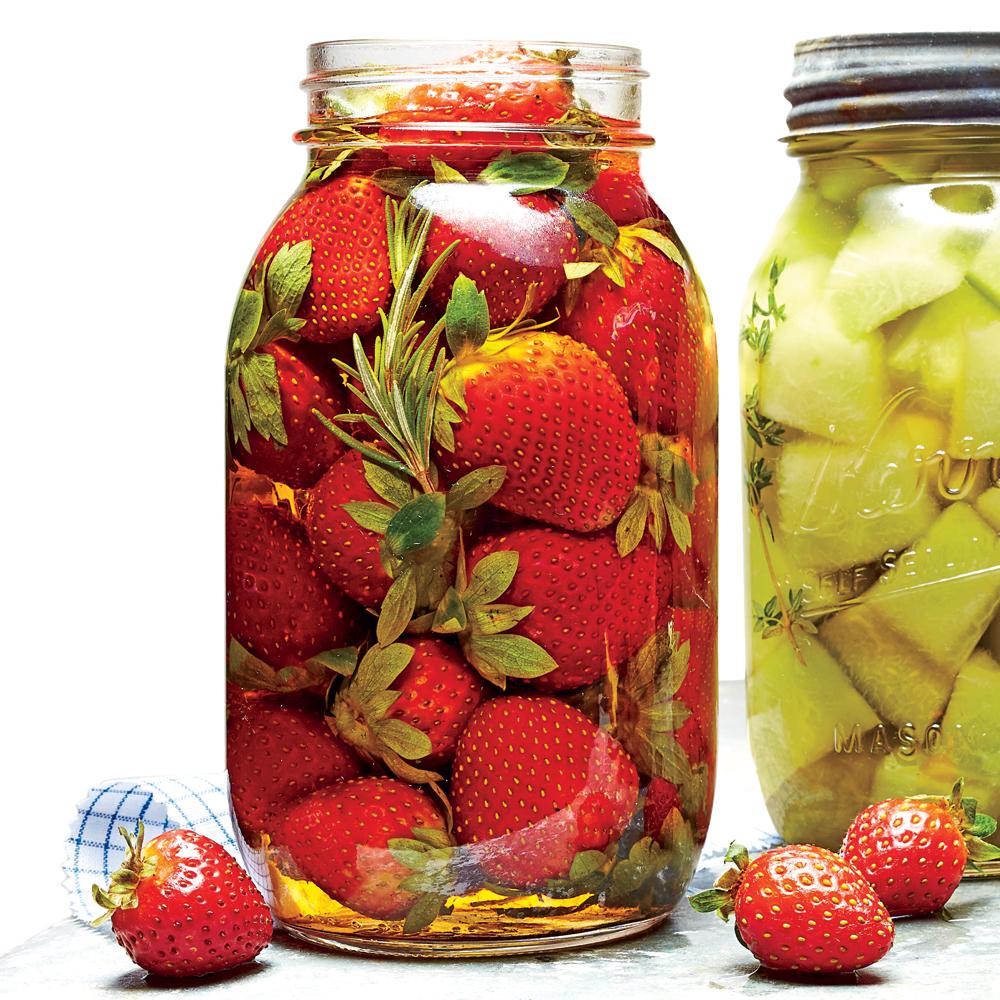 Pickled Strawberries Video Pickled Strawberries